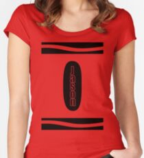 Jason Crayon Costume Women's Fitted Scoop T-Shirt