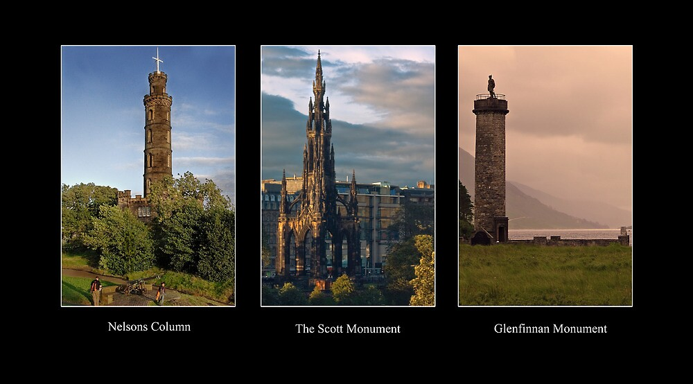 Three Monuments by Chris Clark