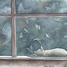 Cat Dreams by Robin Galante