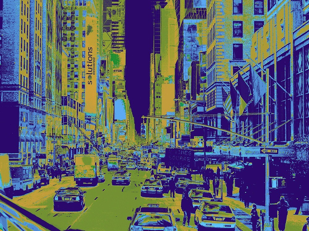 New York City-Madison Avenue by Darryl Green