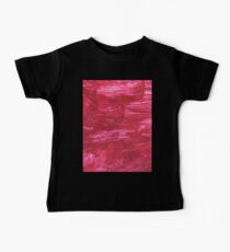 Red Paint Baby Tee