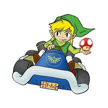 Mario Kart: Toon Link by vdBurg