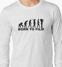 Evolution Born to film Long Sleeve T-Shirt