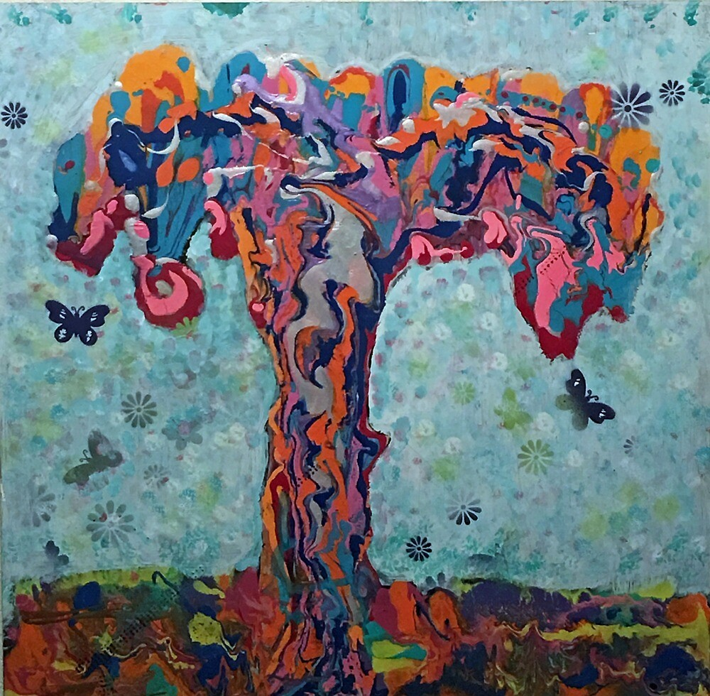 The Happy Little Tree by Darryl Green