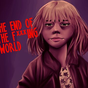 The End of the F***ing World - Alyssa by Quinjao