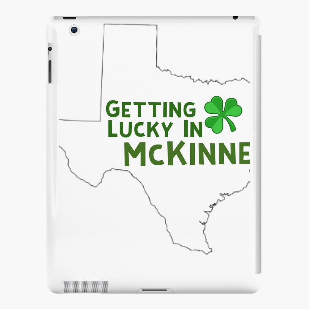 St Patricks Day Texas  iPad Cases & Skins