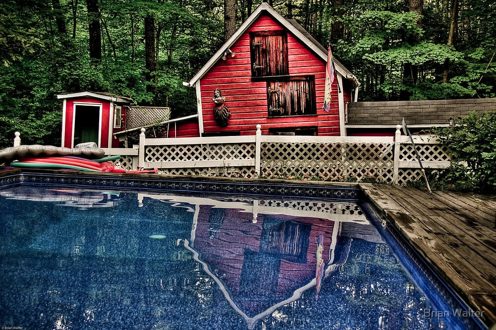 Pool & Barn by Brian Walter