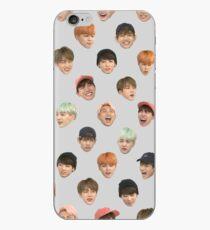 BTS Face Emoticon iPhone Case