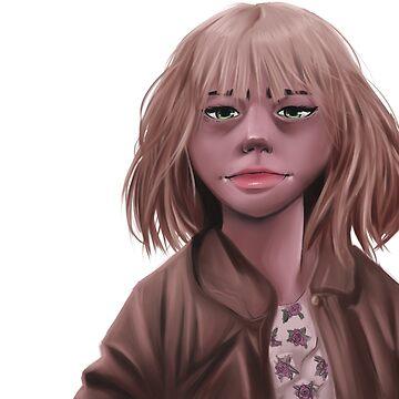 Alyssa (No background) by Quinjao