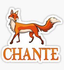 Chante Fox Sticker