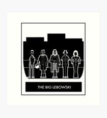 Abide the big Lebowski  Art Print