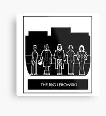 Abide the big Lebowski  Metal Print