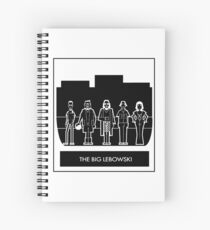 Abide the big Lebowski  Spiral Notebook