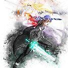 SAO - Kirito and Asuna by puck4001