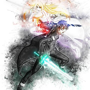 SAO - Kirito y Asuna de puck4001