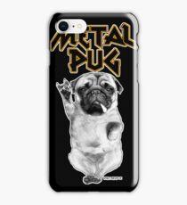 metal pug iPhone Case/Skin