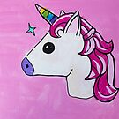 'Unicorn' by Sari Smith (2018) by Peter Evans Art