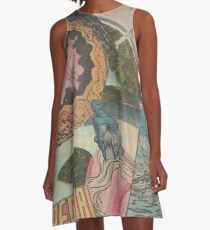 Orfro (penny planet) A-Line Dress