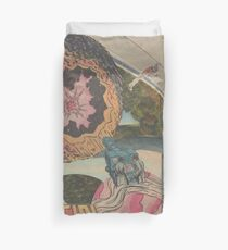 Orfro (penny planet) Duvet Cover