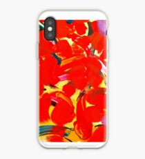 Red Petals iPhone Case