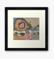 Orfro (penny planet) Framed Print