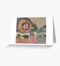 Orfro (penny planet) Greeting Card