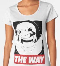 OBEY THE WAY - Ugandan knuckles Women's Premium T-Shirt