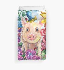 Penelope Pig Duvet Cover