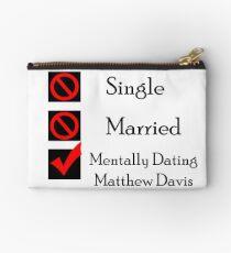 Mentally Dating Matthew Davis Studio Pouch