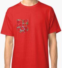 Floral Pattern Pocket Classic T-Shirt
