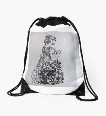 Wearable art Drawstring Bag