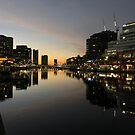 Sunset on the Yarra by David Thompson