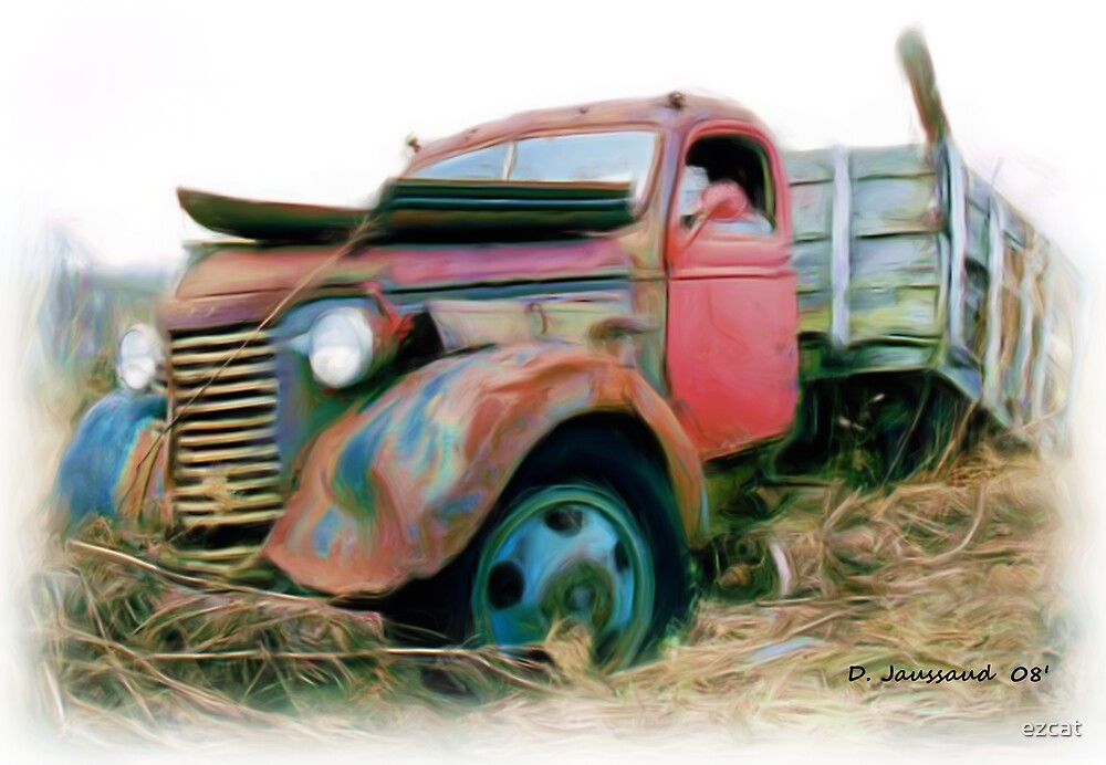 Junked 39' Chevy Truck by ezcat