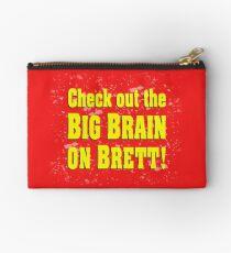 Big Brain on Brett Studio Pouch