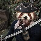 Captain Red Bear-Cat by Randy Turnbow