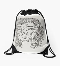 Inky Drawstring Bag