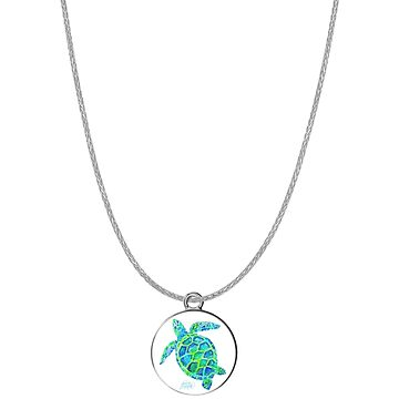 Sea Turtle Necklace by janmarvin