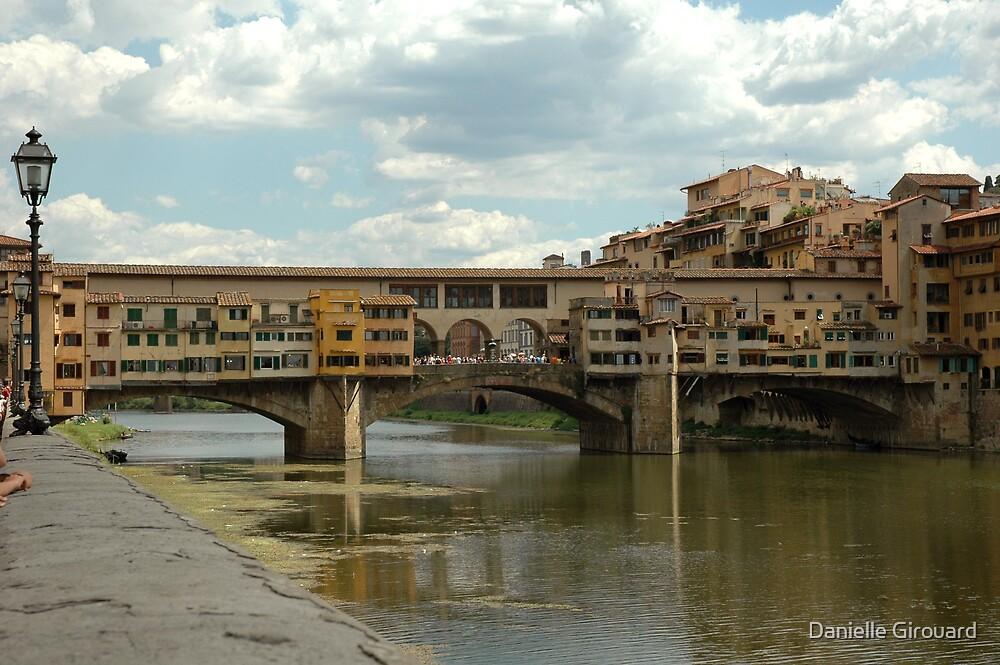 Ponte Vecchio Firenze Italy by Danielle Girouard