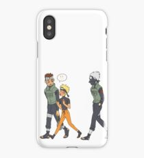 Walking With Two Gay Dads! iPhone Case/Skin