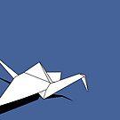 Paper Crane by Jeremy Boland