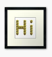 Hi Shrek Framed Print