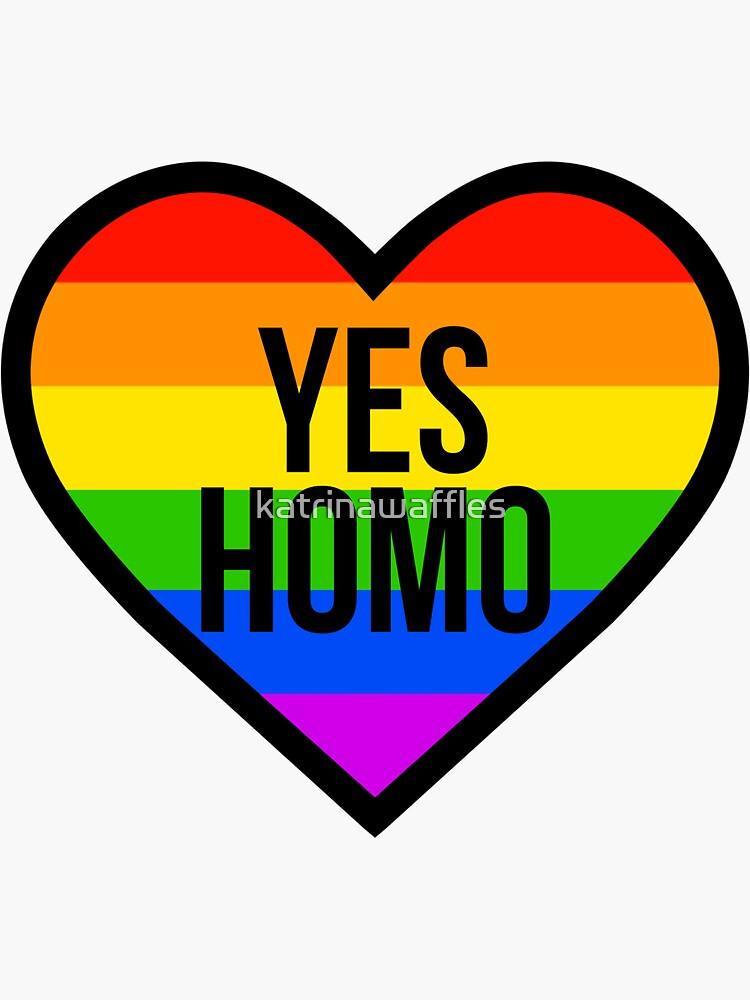 Ja, Homo von katrinawaffles