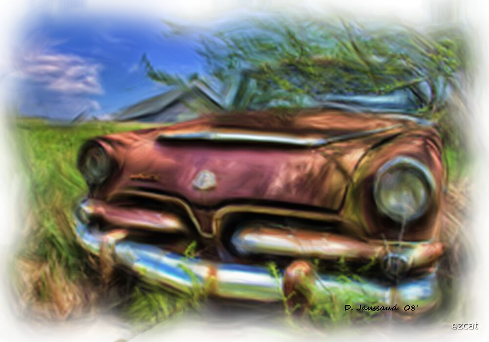 Old Dodge by ezcat