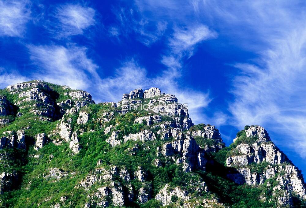 LIGURIA MOUNTAINS LANDSCAPES Pennavaire rocks by Enrico Pelos