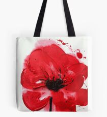 Remembrance Poppy Tote Bag
