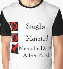 Mentally Dating Alfred Enoch Graphic T-Shirt