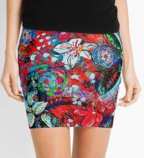Floral Spring Mini Skirt