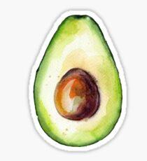 Aquarell Avocado Sticker