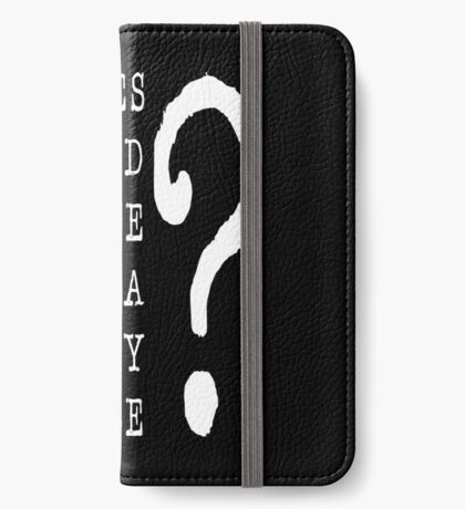 Jared Security Clearance iPhone Wallet