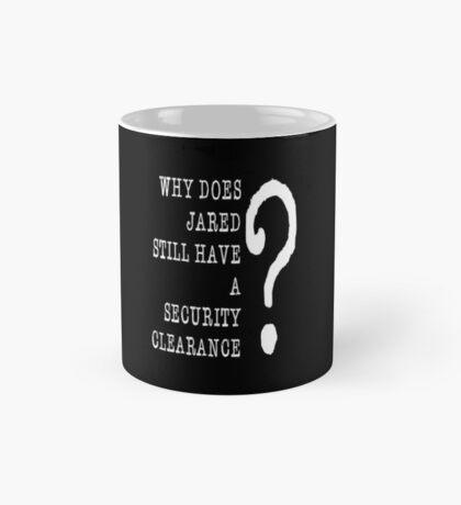 Jared Security Clearance Mug